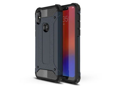 Удароустойчив гръб Armor за Motorola One / P30 Play, Тъмно син